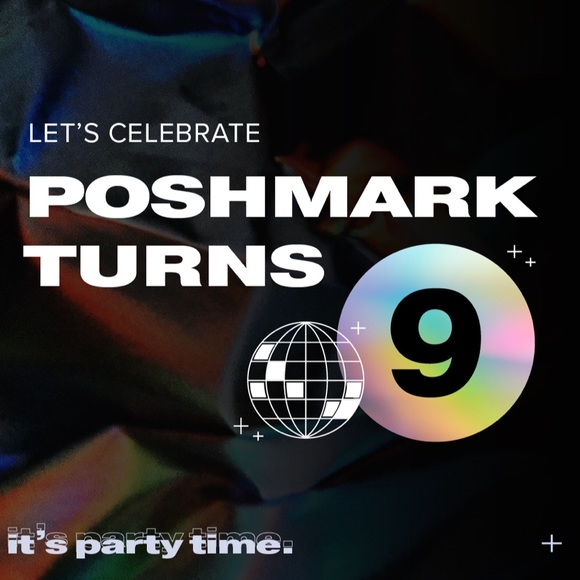 Poshmark turns 9 virtual party 12/4 7 PM Pacific